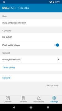 Dell EMC CloudIQ screenshot 4