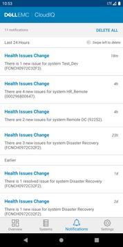 Dell EMC CloudIQ screenshot 6
