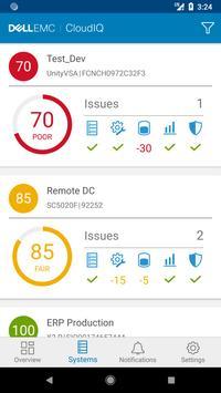 Dell EMC CloudIQ screenshot 1