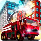 Fire Truck Emergency Rescue - Driving Simulator أيقونة