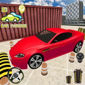 Advance car parking: Car driving school 2019 icon