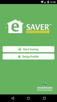 Emerson e-Saver™ Residential poster