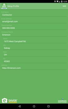 Emerson e-Saver™ Residential screenshot 14