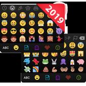 ❤️Emoji keyboard - Cute Emoticons, GIF, Stickers icon
