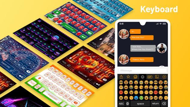 Emoji Keyboard Cute Emoticons - Theme, GIF, Emoji gönderen
