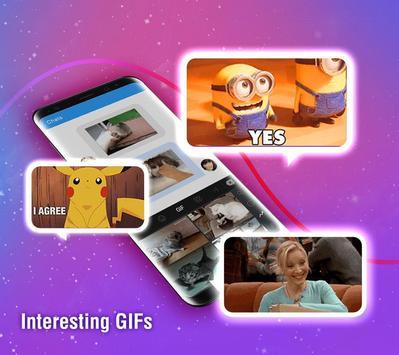 触宝输入法国际版 TouchPal Emoji Keyboard 表情符号,贴纸和主题 Emoji 截图 4