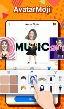 TouchPal Emoji Keyboard: AvatarMoji, 3DTheme, GIFs screenshot 4