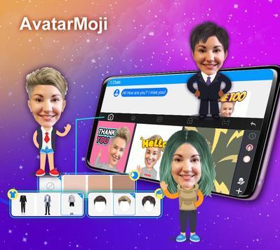 触宝输入法国际版 TouchPal Emoji Keyboard 表情符号,贴纸和主题 Emoji 海报