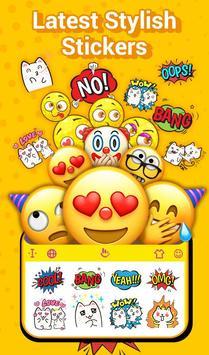 TouchPal Emoji Keyboard: AvatarMoji, 3DTheme, GIFs poster