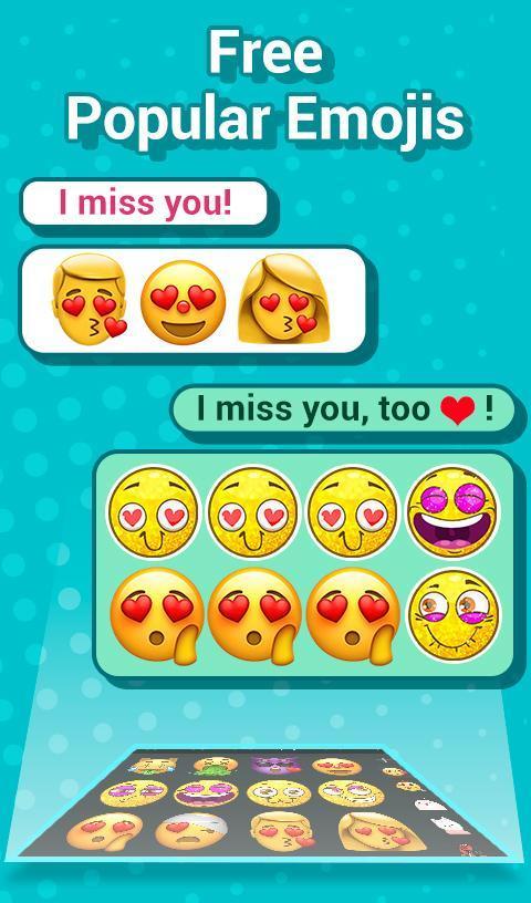 TouchPal Emoji Keyboard: AvatarMoji, 3DTheme, GIFs for
