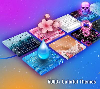 触宝输入法国际版 TouchPal Emoji Keyboard 表情符号,贴纸和主题 Emoji 截图 2