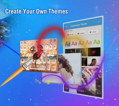 触宝输入法国际版 TouchPal Emoji Keyboard 表情符号,贴纸和主题 Emoji 截图 3