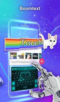 Teclado TouchPal Emoji- Emoji, adesivos& temas imagem de tela 5