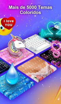 Teclado TouchPal Emoji- Emoji, adesivos& temas imagem de tela 1
