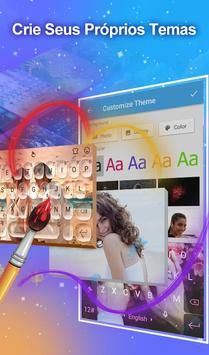 Teclado TouchPal Emoji- Emoji, adesivos& temas imagem de tela 2