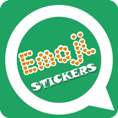 Emoji Letter Sticker Maker – Emoji WAStickerApps icon
