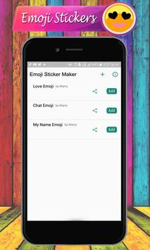 Emoji Letter Sticker Maker – Emoji WAStickerApps screenshot 14