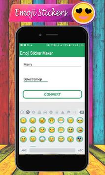 Emoji Letter Sticker Maker – Emoji WAStickerApps screenshot 2