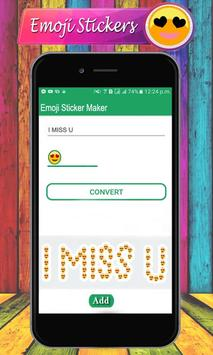 Emoji Letter Sticker Maker – Emoji WAStickerApps screenshot 8