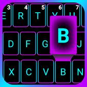 Emoji Smart Neon keyboard icon