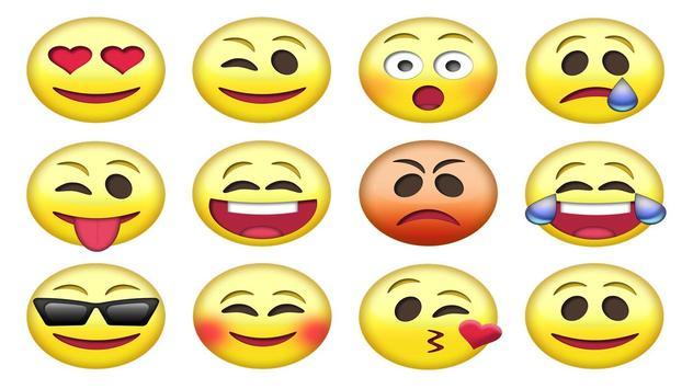 Emoticones gratis para compartir poster