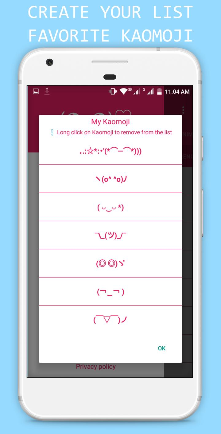 Japanese Emoticons for Android - APK Download