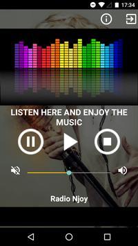 Radio Njoy screenshot 1