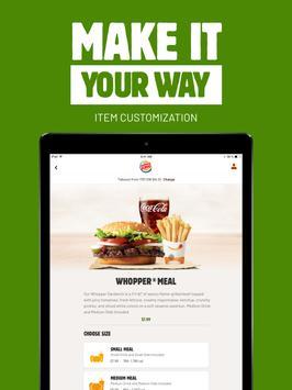 BURGER KING® App screenshot 9