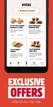 BURGER KING® App screenshot 2