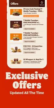 2 Schermata BURGER KING® App