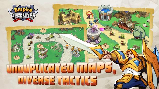 Empire Defender TD: Tower Defense The Fantasy War screenshot 1