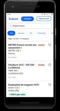 Emploi France screenshot 13