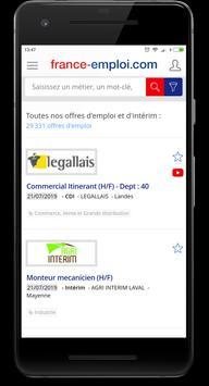 Emploi France screenshot 2