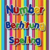 Bermain sambil Belajar Angka: Spelling English icon