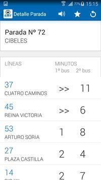EMT Madrid screenshot 1