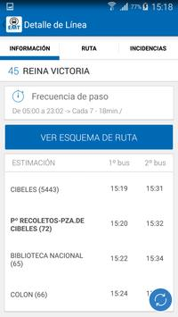 EMT Madrid screenshot 3