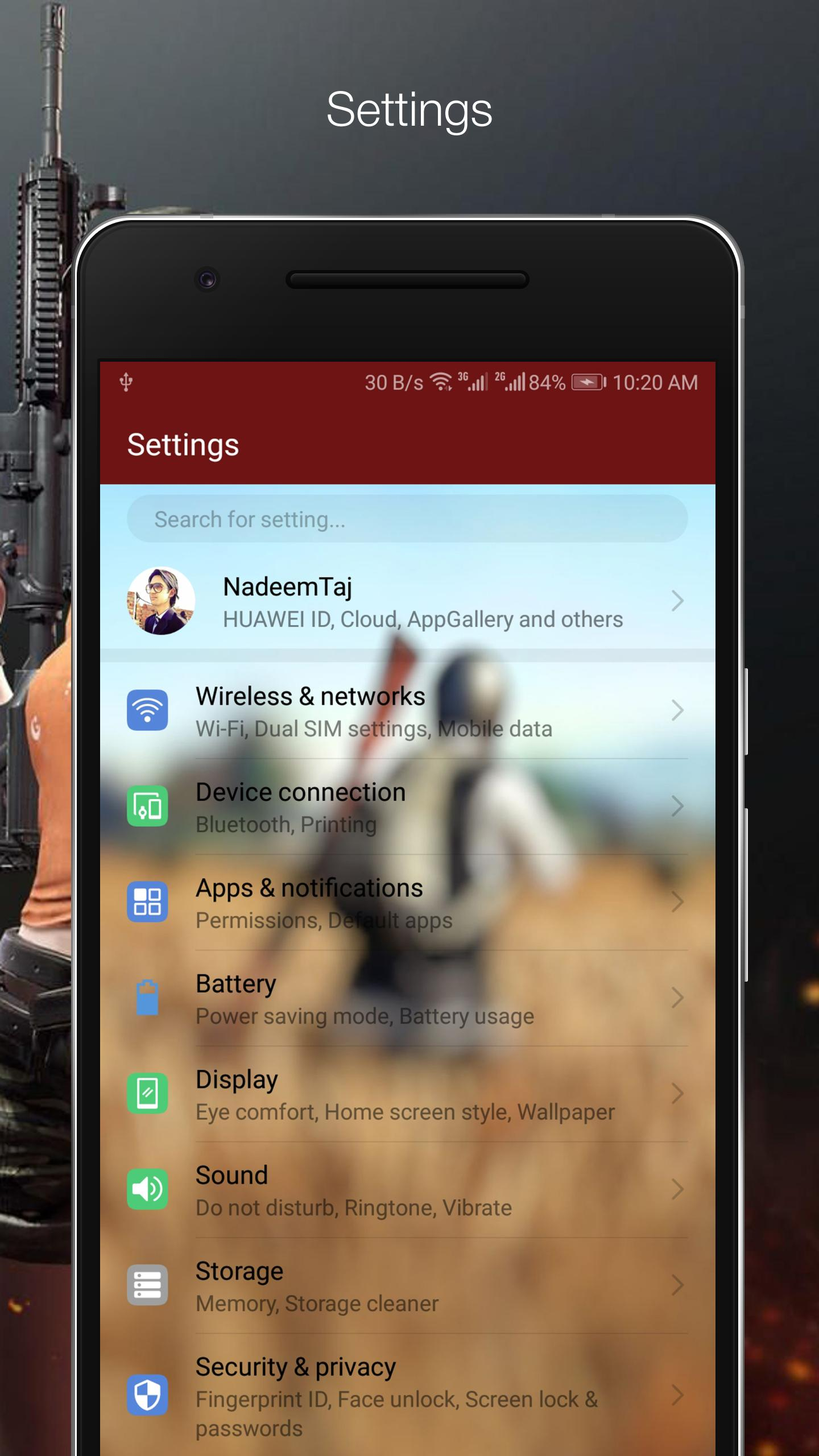 Theme PUBG for Huawei/Honor for Android - APK Download