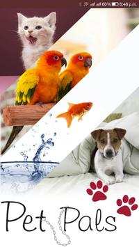 PetPals - The Journey with your pet poster