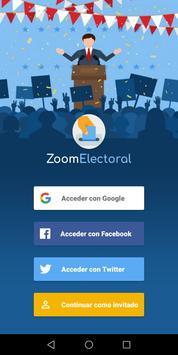 Voto Elecciones 2021 poster