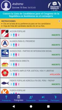 Voto Elecciones 2021 screenshot 3