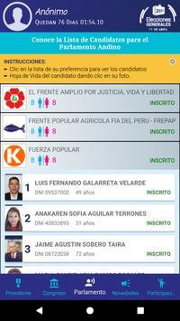 Voto Elecciones 2021 screenshot 4