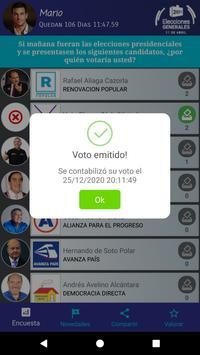 Voto Elecciones 2021 screenshot 2