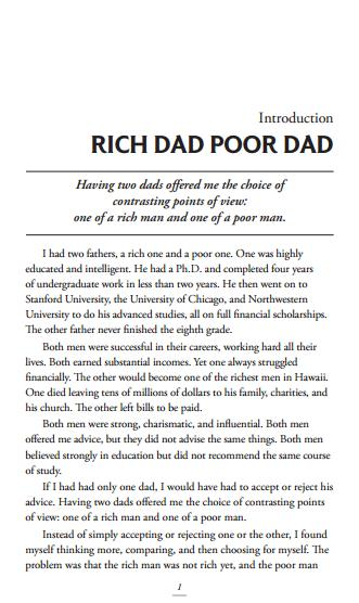 Rich Dad, Poor Dad PDF Free Download