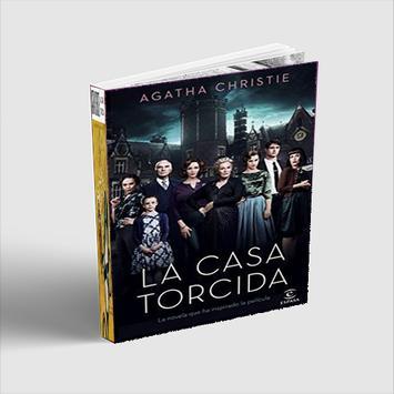 La casa torcida  Agatha Christie poster