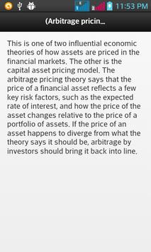 Economics Terms Dictionary screenshot 2