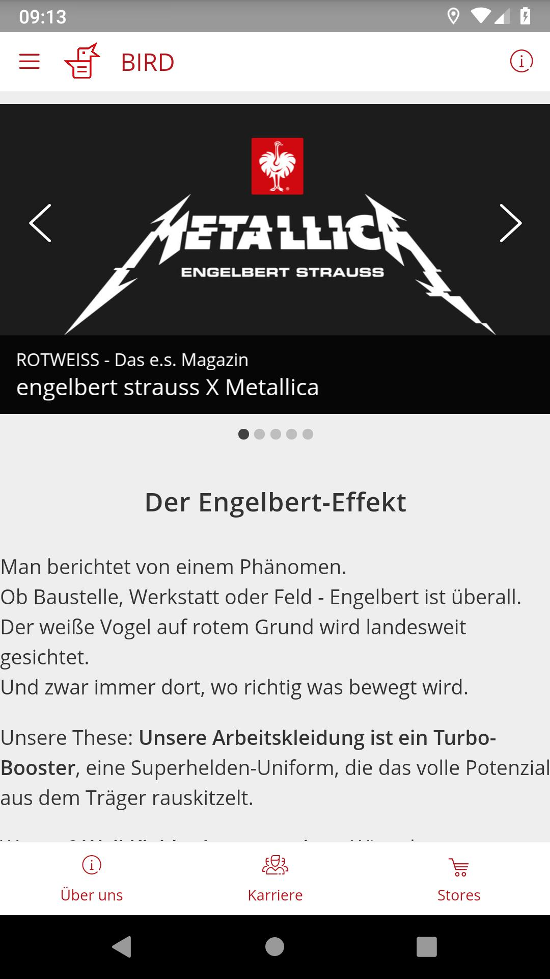 engelbert strauss metallica edition