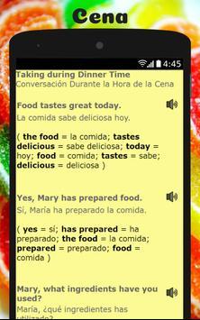 Spanish to English Lesson: Aprende Inglés Hablando poster