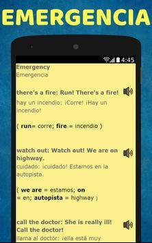Aprende Ingles: Spanish to English Speaking screenshot 4