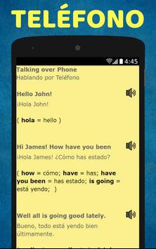 Aprende Ingles: Spanish to English Speaking screenshot 5