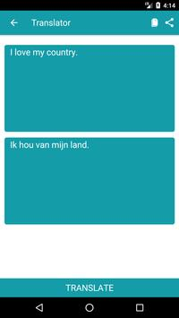 English to Dutch Dictionary and Translator App screenshot 1